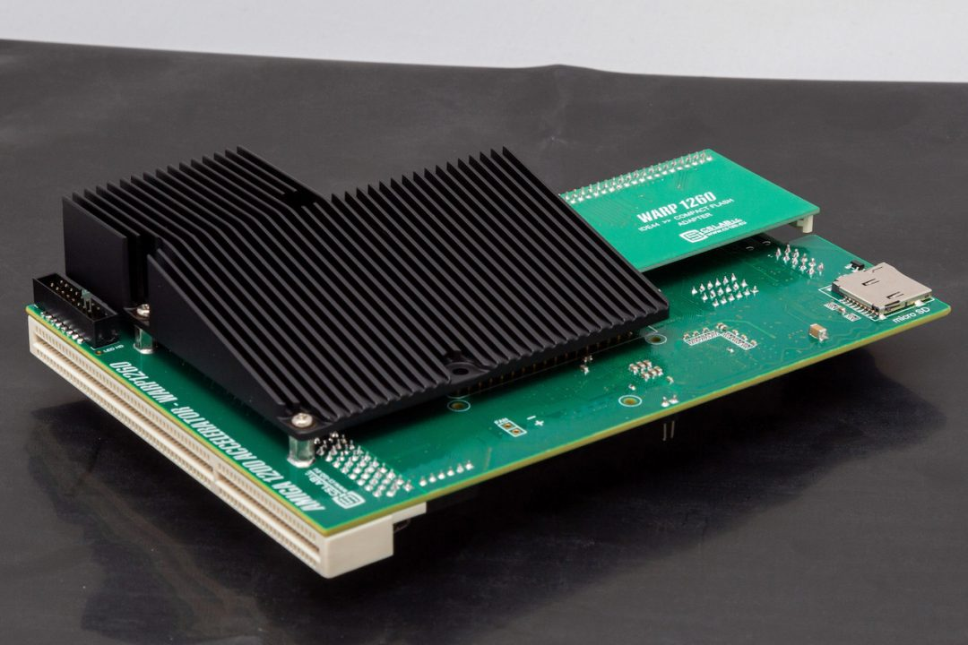 New Warp 1260 Cooler for Amiga 1200 is under Testing
