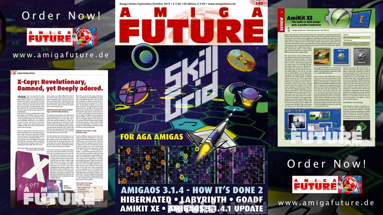 Amiga Future Amitopia Amiga Magazine Support