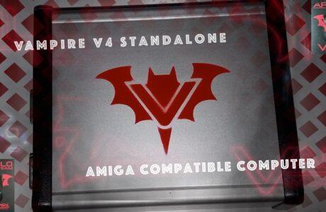Vampire V4 Standalone Amiga Compatible Computer Launch at Amiga34