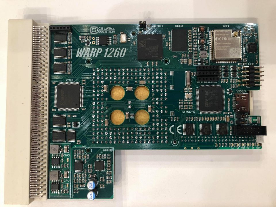 Amiga 1200 Warp 1260 Heatsink Prototype