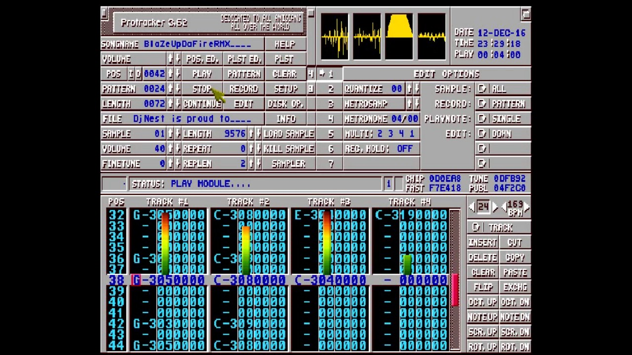 Rotator is a New awesome bouncing plattformer for Amiga