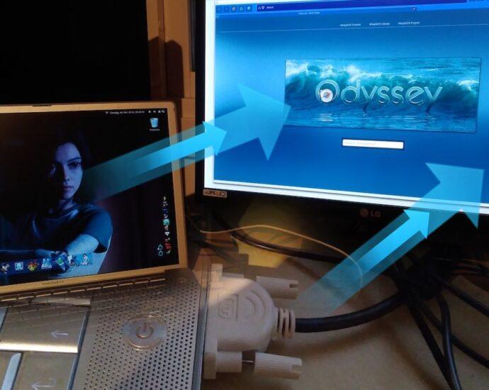 MorphOS 3.12 Dual-head Handling DVI External Monitor Support