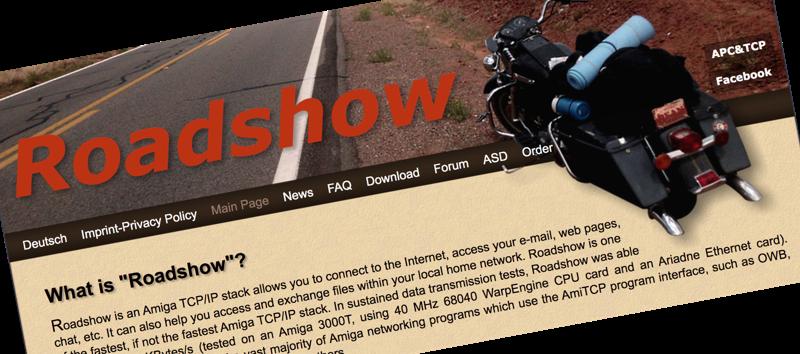 Roadshow 68k Website