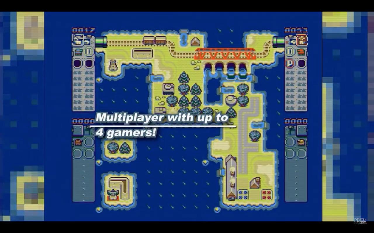 Multiplayer Tanks Furry Amiga Game