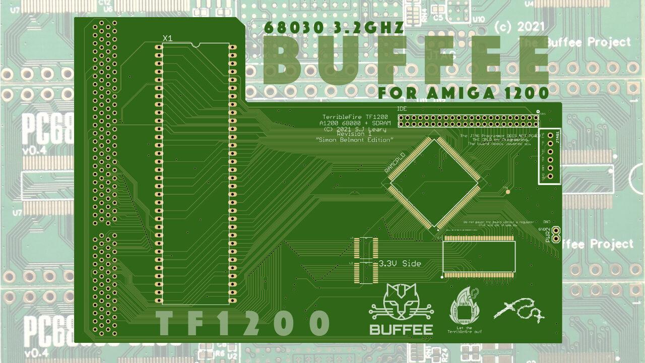 68030 3.2GHz Amiga 1200 accelerator